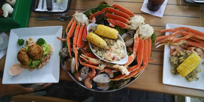 Seafood on Carolina Bech, NC