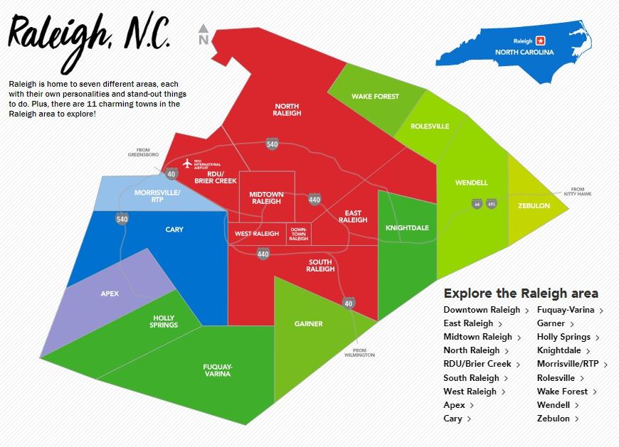 Налоги в Роли, Северная Каролина